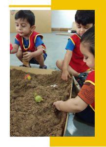Sand Play Activity